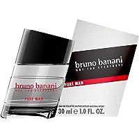 bruno banani Pure Man Eau de Toilette Natural Spray Houtachtig bloemiges Herenparfum, per stuk verpakt (1 x 30 ml) 30ml