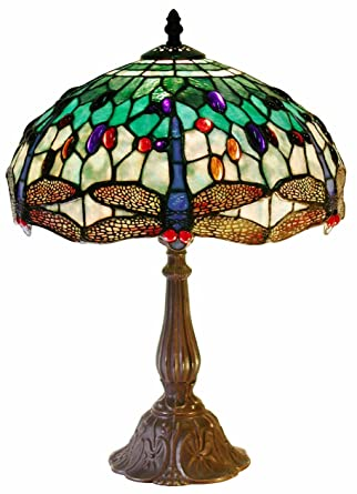 Tiffany Style DragonflyTable Lamp - Table Lamps - Amazon.com 370b6fb9b19c