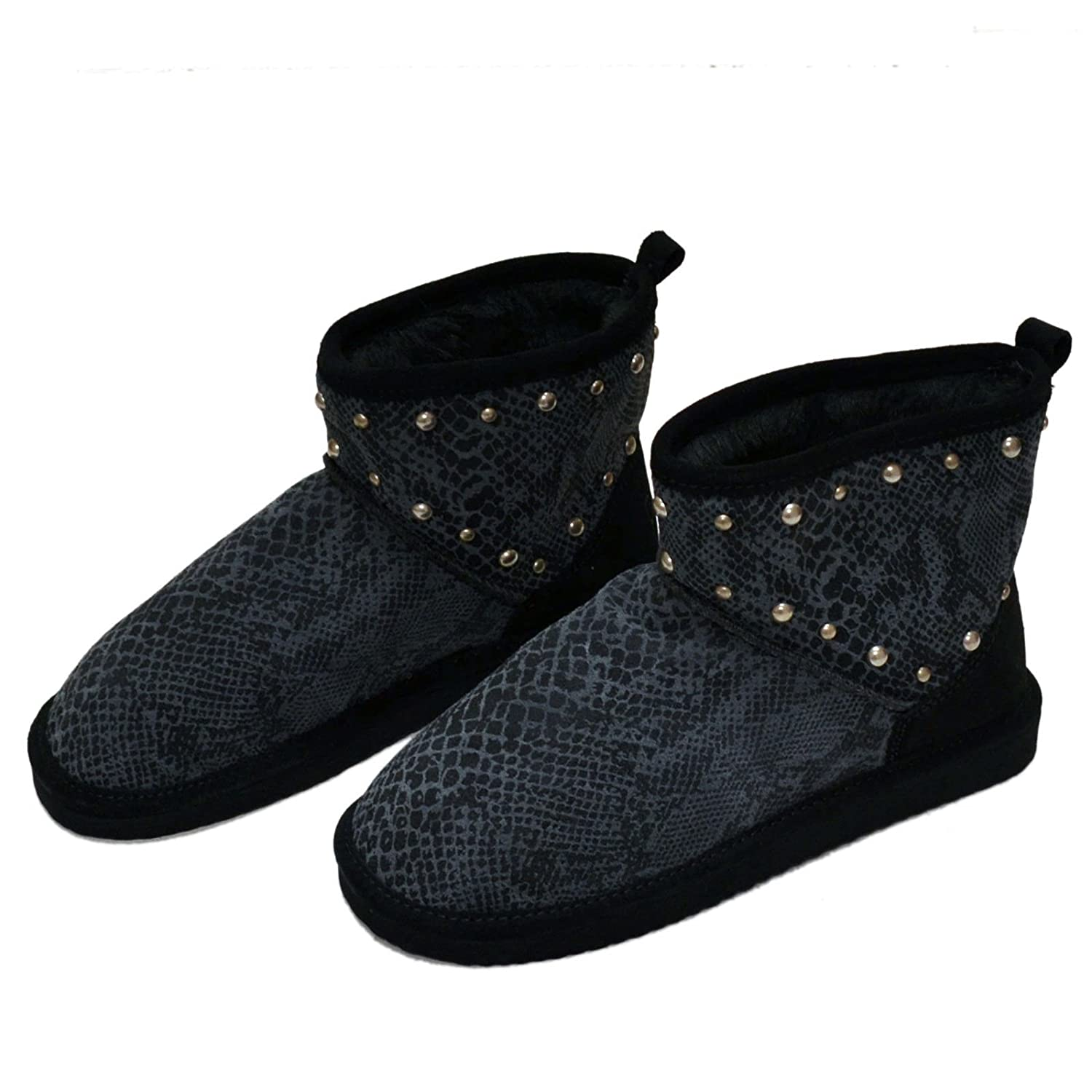 b78a15e5b0f4b Victoria's Secret Pink Fur Lined Bootie Mukluks Boots Shoes with Bling  Sequins Studs