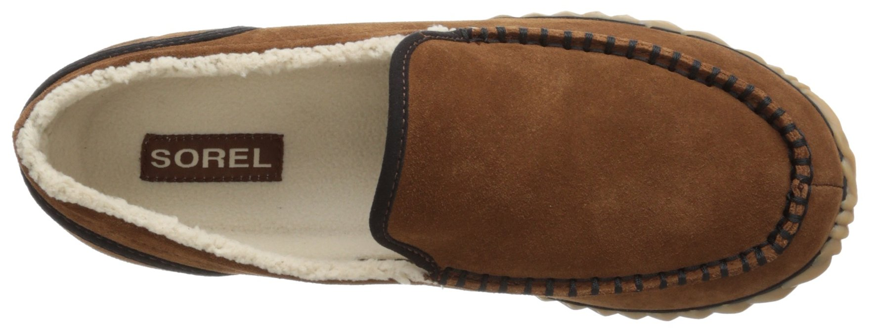 Sorel Men's Dude Moc,Grizzly Bear,7.5 M US by SOREL (Image #8)