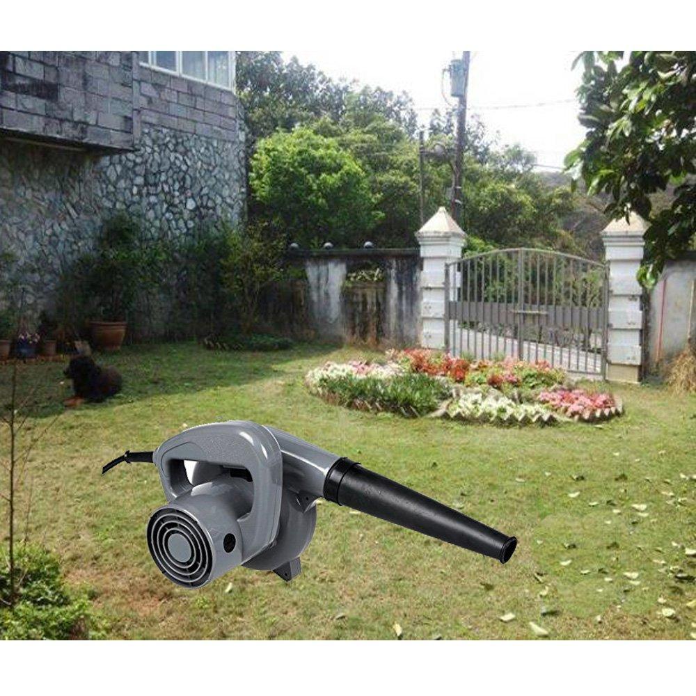 Ferty 500W 13000r/min Powerful Electric Dust Blower, Leaf Sweeper for Shop Garage Garden US Plug