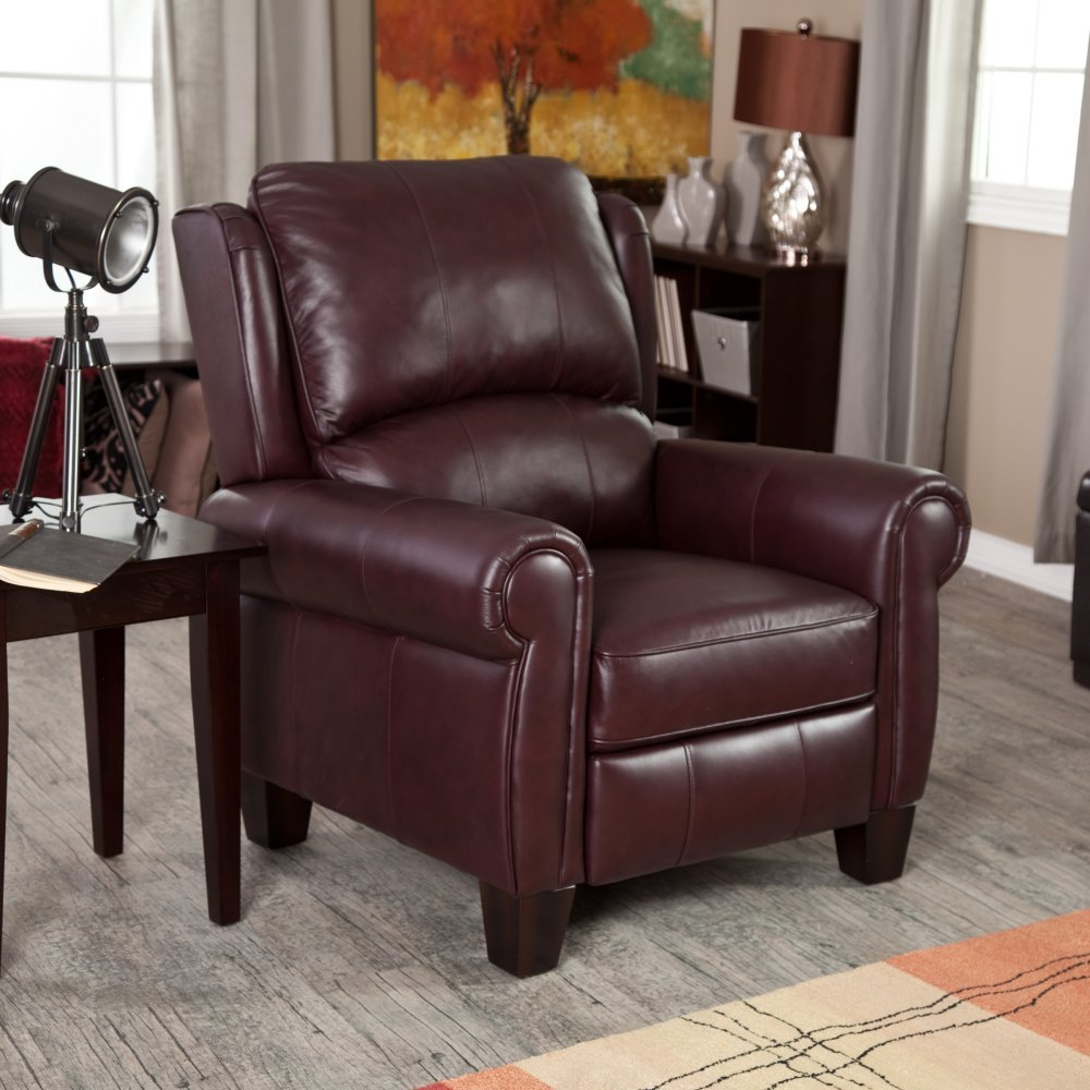 Amazon.com Barcalounger Charleston Recliner - Burgundy Kitchen u0026 Dining : burgundy leather sectional - Sectionals, Sofas & Couches