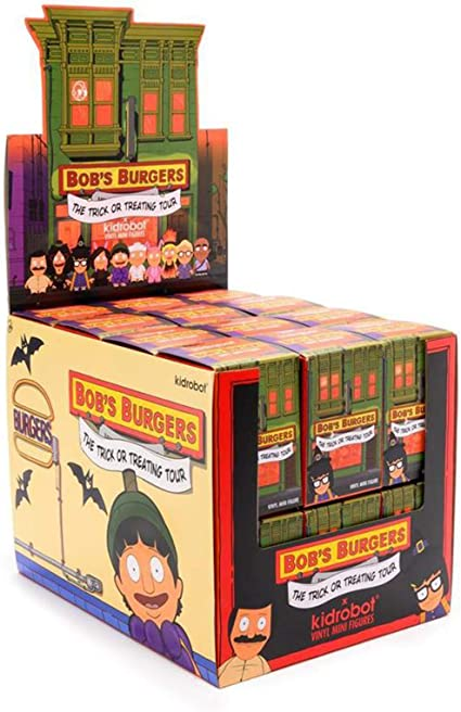 Kidrobot Bob/'s Burger série 2 Blind Box Mini Series Figure 4 Blind Box New