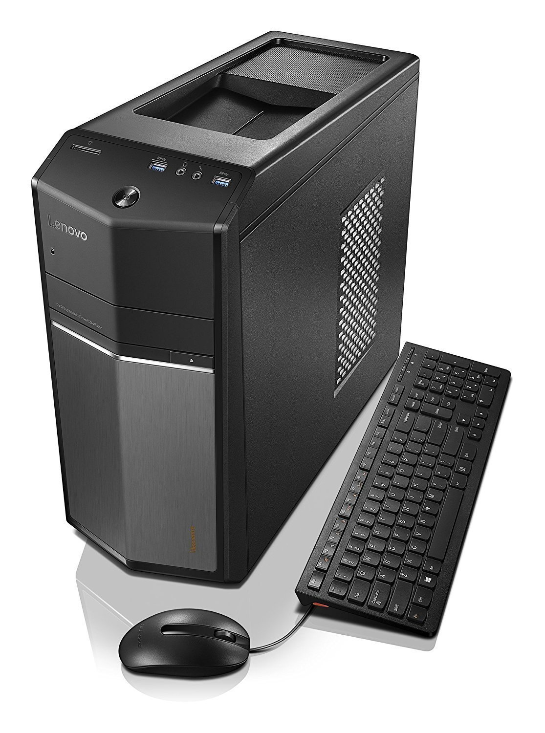 Lenovo Ideacentre 710-25ISH High Performance Gaming Desktop | Intel 2.7GHz i5-6400 Quad-Core | NVIDIA GeForce GTX 730 | 8GB RAM | 1TB + 8GB SSHD | USB keyboard & mouse | Windows 10