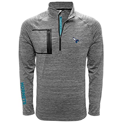 7a83b6d15e352 Amazon.com   NBA Vault Wordmark Quarter Zip Mid-Layer