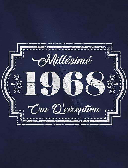 Green Turtle T-Shirts Millesimé 1968 cru d éxception - Anniversaire T-Shirt  Homme  Amazon.fr  Vêtements et accessoires 8edb79fdcfb