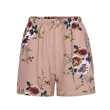 Hose Walking Strand Hosen Elastisch Sexy Pants Taille Geblümt Shorts Damen Hohe Freizeithosen Lose Frauen Heiß Sommer Kurze Mode lcFK1J3T