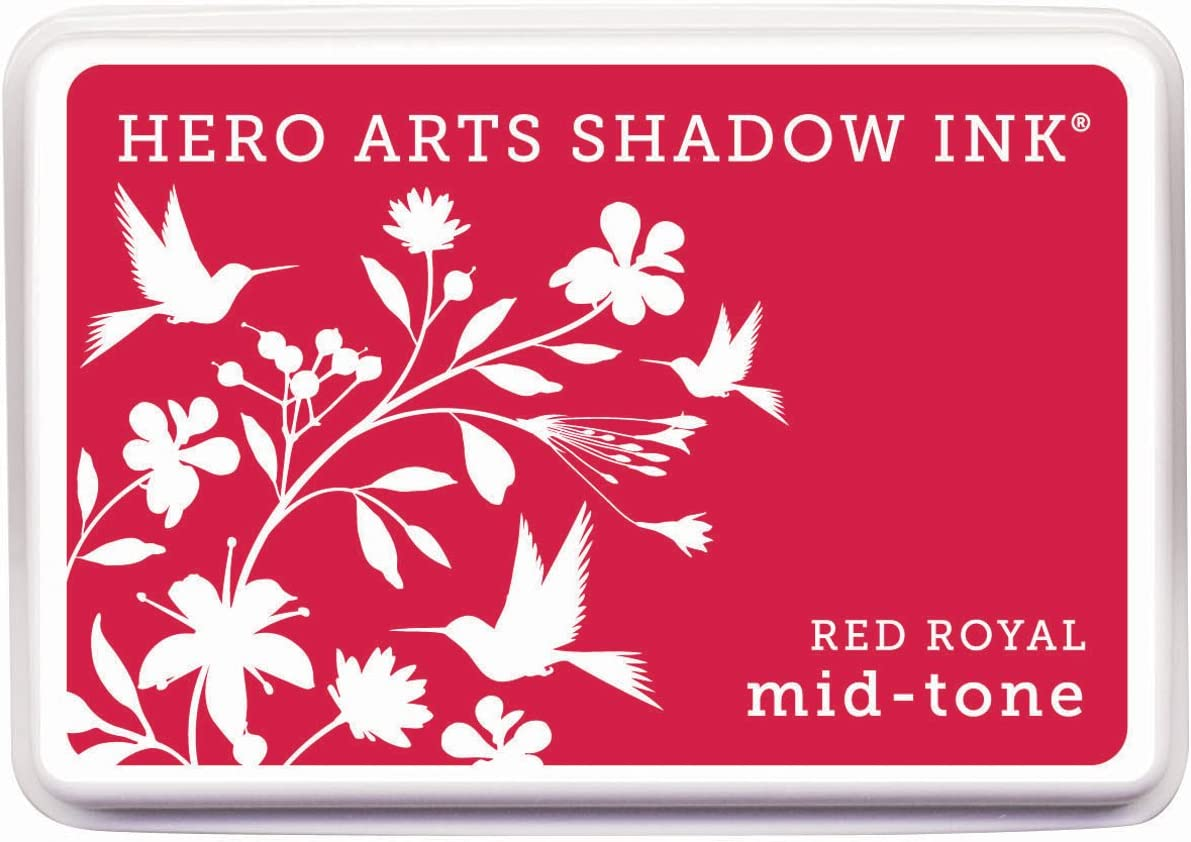 Hero Arts Rubber Stamps Shadow Ink Mid-Tone Wet Cement