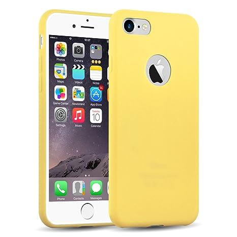 coque iphone 8 jaune