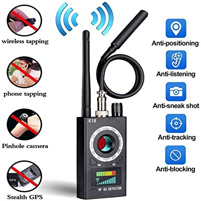 Anti Spy Detector & Camera Finder RF Signal Detector GPS Bug Detector Hidden Camera Detector for GSM Tracking Device GPS Radar Radio Frequency DetectorKardia Mobile ECG for Apple & Android Devices: Home Improvement