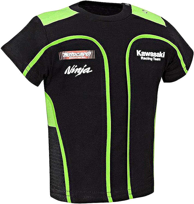 Kawasaki SBK Camiseta Niño - Negro, 56/68: Amazon.es: Ropa y accesorios