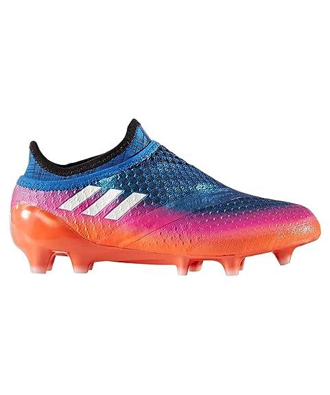 huge selection of 2d9f3 62abc adidas Messi 16+ Pureagility Fg Scarpe da Calcio Unisex-Bambini, Arancione  Orange,