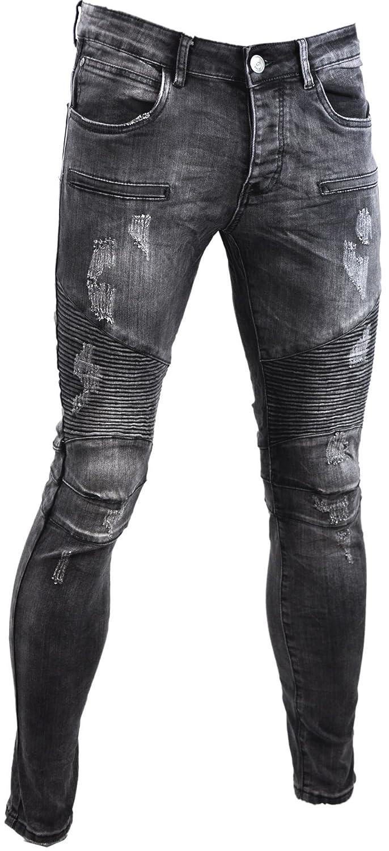 Jaylvis Jaylvis Jaylvis Destroy Ff019 5bxcl0106710 Homme Jeans Gris SwSfr6