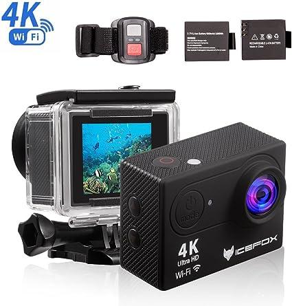 Action Cam 4k Icefox Unterwasser 30m Sport Action Kamera