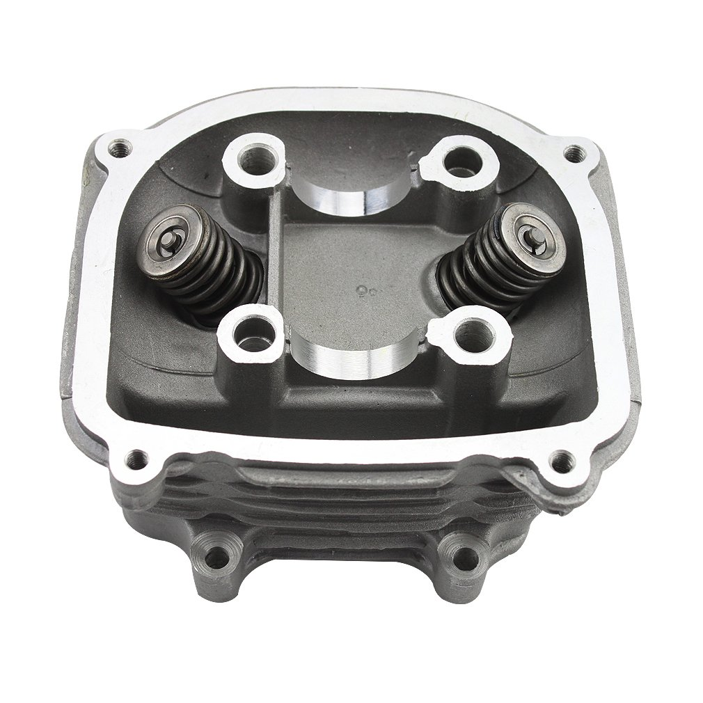 GOOFIT 57.4mm Cylinder Head Assembly Valve with GY6 150cc Chinese 152QMI 157QMJ ATV Quad Installed Scooter Moped Parts Group-65