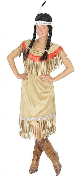Foxxeo 40109 Indianer Kostum Fur Damen Grosse S M L Xl Xxl