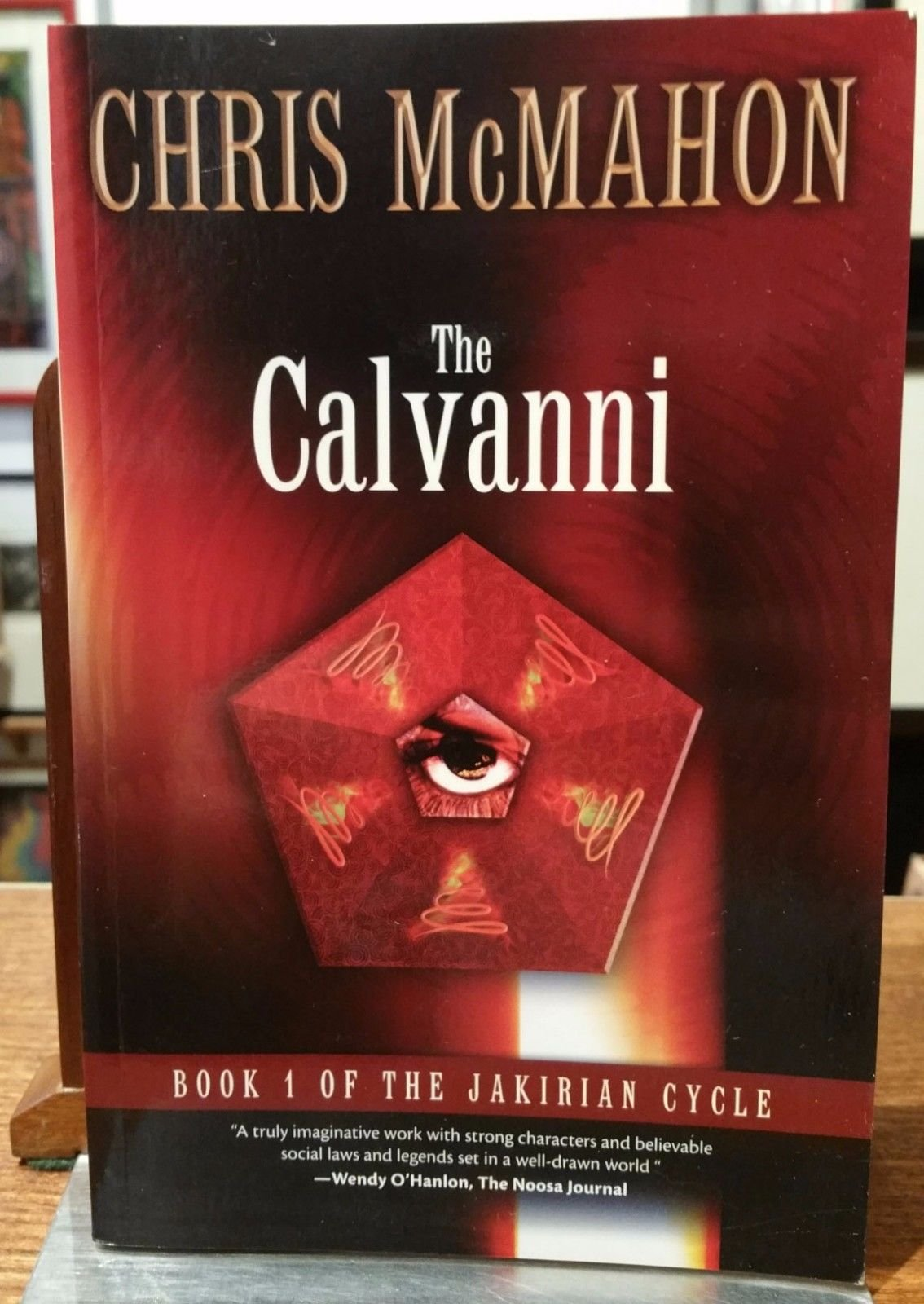 Read Online The Calvanni : Book 1 of the Jakirian Cycle ***Signed By Author*** pdf