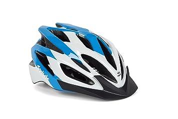 Spiuk Tamera - Casco de ciclismo, color azul/blanco, talla 58-62