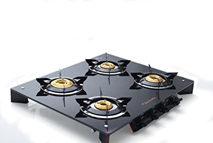 1f8cc6d80d2 Buy Butterfly Prism 4 Burner Glass Top Stove