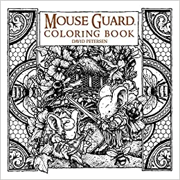 Amazon Mouse Guard Coloring Book 9781608869299 David Petersen Books