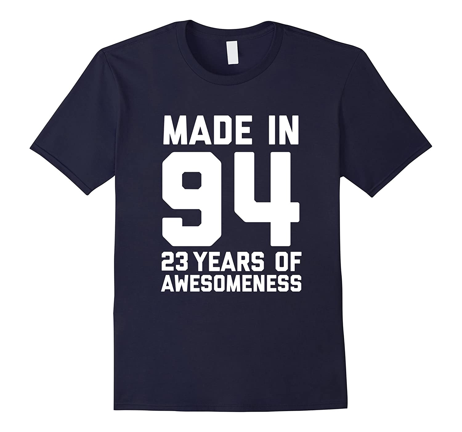 23rd Birthday Shirt Gift Age 23 Year Old Mens Womens Tshirt-T-Shirt