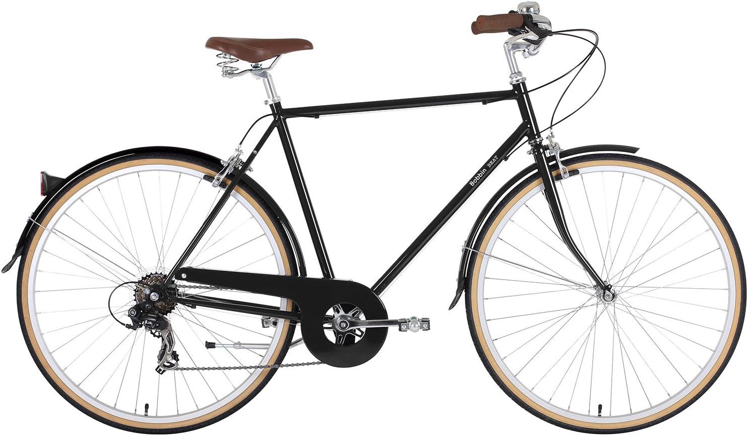 BOBBIN Beat Bicicleta Urbana, Unisex Adulto, Negro, 52: Amazon.es ...