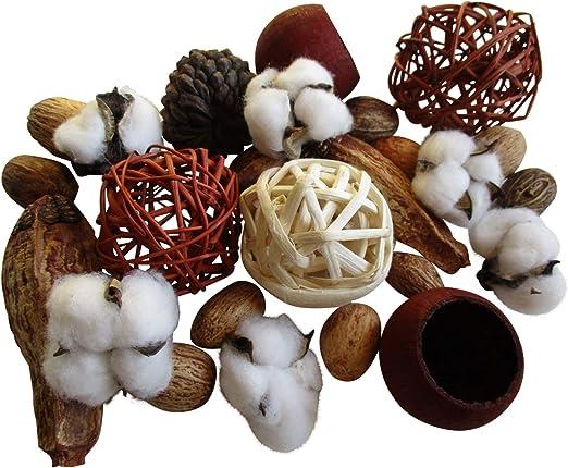 From The Attic Crafts - Juego de 17 Bolitas de algodón con diseño ...
