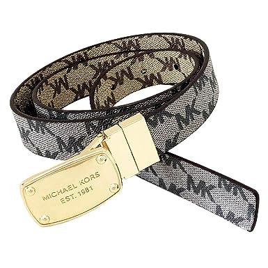 economico in vendita sconto più basso sono diversamente Michael Kors - Cintura - Donna beige-grigio M: Amazon.it ...