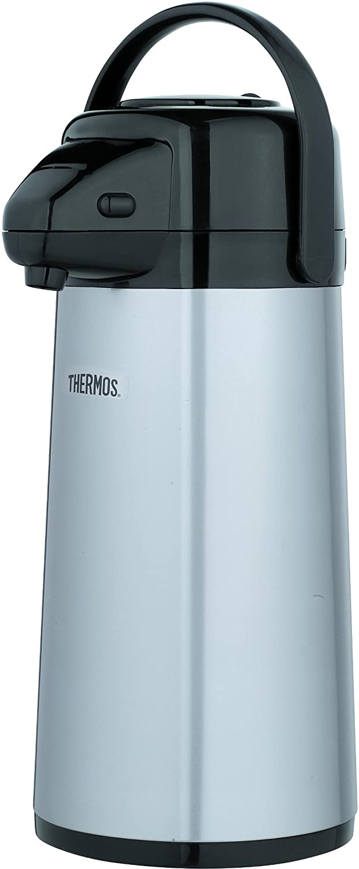thermos lever action pump pot 2 5 l ebay. Black Bedroom Furniture Sets. Home Design Ideas