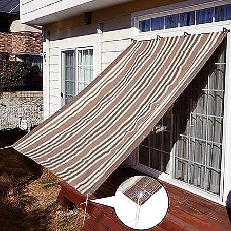 Tela Sombra ZAY Exterior para Toldo de Pérgola Gazebo Patio con Ojales, HDPE 90% Sunblock Garden Netting con Cuerda Libre (Size : 1.8M×1.8M): Amazon.es: Hogar