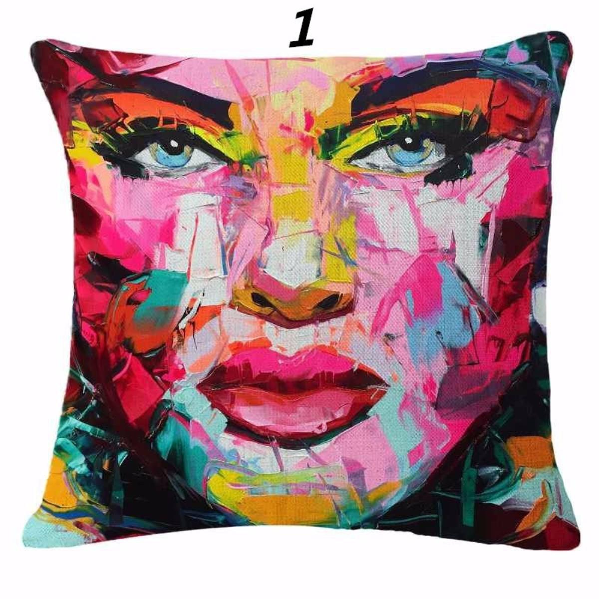 Amazon.com: LSS Trading Scandinavian Pillowcase for Sofa ...