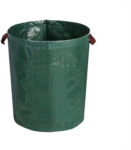 Grandes Bolsas De Basura De JardíN con Asas, Hojas CaíDas, Plantas Verdes Bolsas De Basura De JardíN, Sacos De Basura Reutilizables,Verde: Amazon.es: Hogar