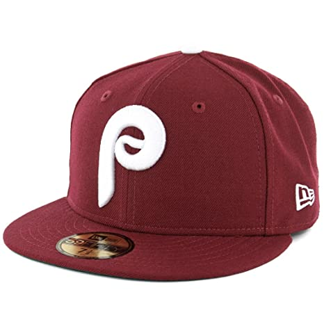 1be7774755a6c New Era 5950 Philadelphia Phillies  quot 1975 Cooperstown quot  Fitted Hat  ...