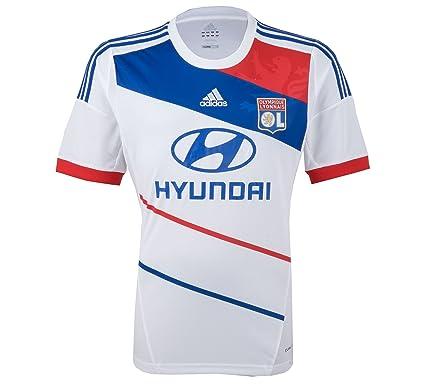 Adidas Olympique Lyon casa camiseta de fútbol para los hombres
