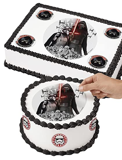Amazoncom Wilton 7105083 Star Wars Edible Images Cake Decorating