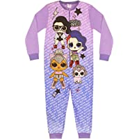 LOL Surprise Doll We Run The World Girl's Onesie Purple Kids Sleep Suit