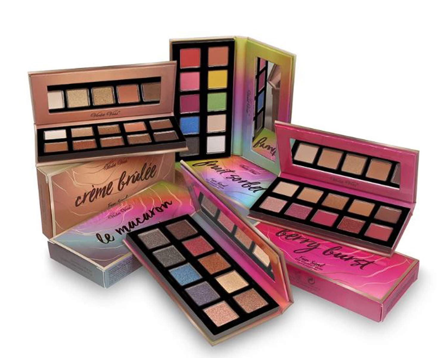 Violet Voss Sweet Treasures Mini Palette Bundle! Includes 4 Mini Eyeshadow Palettes! Mix Of Matte And Shimmer Shadows! Limited Edition Beautiful Eyeshadow Gift Set! by Violet Voss