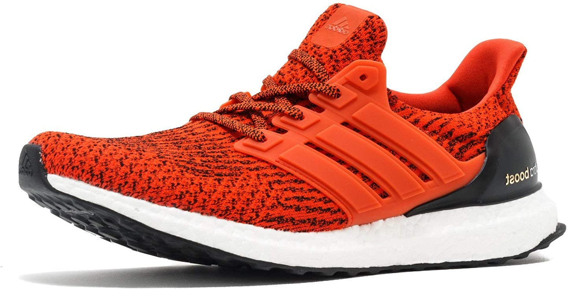 66bfe4badfc3d SS17 Mens Ultraboost Running Shoes - Energy - Neutral - Energy Red/Black -  UK 8