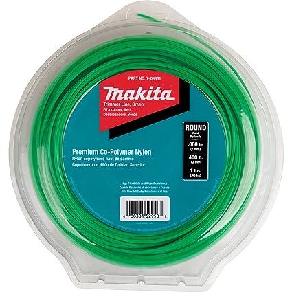 Amazon.com: Makita T-03361 T-03361 - Línea de cortadora ...