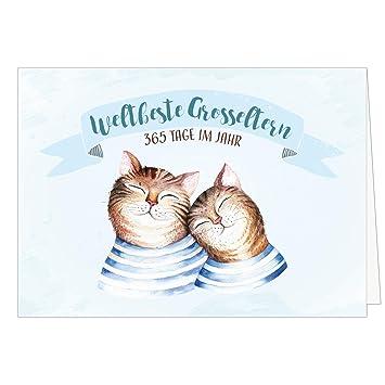 Grandes XXL tarjeta para abuelo y abuela con sobres/Mundo mejor ...