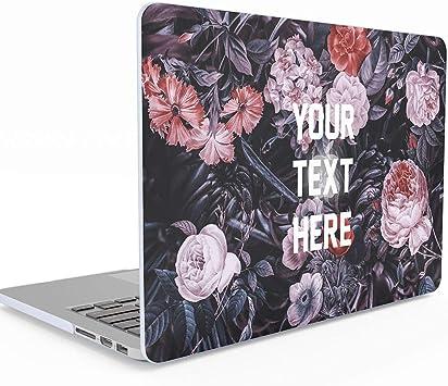 Personalizado Texto personalizado Motivación Tumblr o inspiración Cita Flores silvestres MacBook Air 11 pulgadas Estuche Modelo: A1370/A1465, cubierta de estuche rígido: Amazon.es: Electrónica