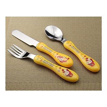 El primer Cubiertos Cuchillo Tenedor löffe Niños Pequeños ...