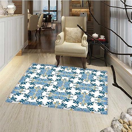Amazon Com European Bath Mat For Tub Roman Tile And Mosaic