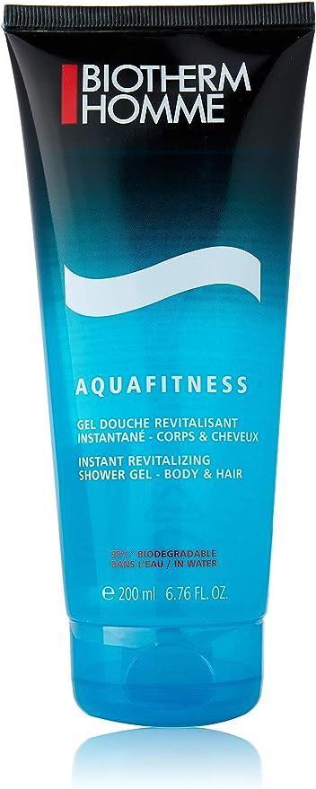 Biotherm Homme Aquafitness Gel de Baño - 200 ml: Amazon.es: Belleza