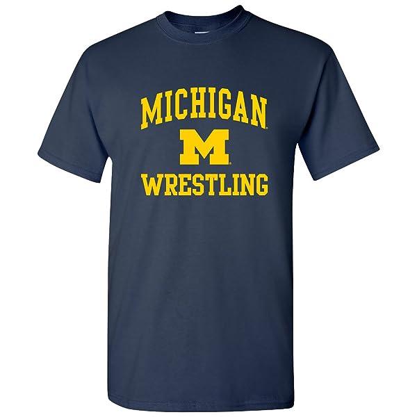 Arch Logo Wrestling, Team Color T Shirt, College, University