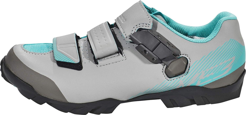 Shimano SH-ME3 - Zapatillas Mujer - Gris/Turquesa 2018: Amazon.es: Deportes y aire libre