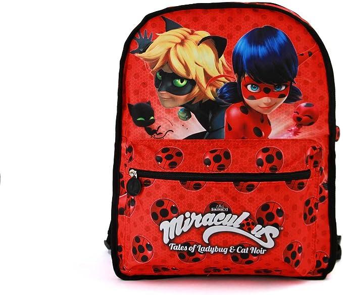 multicolore Miracle Kids Chat Noir Sac à dos taille unique