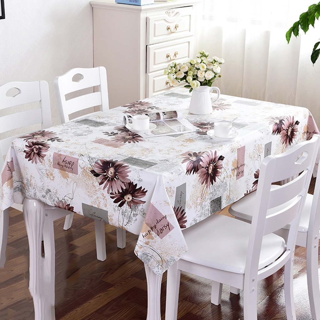 PVC Wasserdichte Tischdecken Home Küche Lattice Couchtisch Anti-hot Anti-öl Rechteckigen Tischdecken ( Farbe   B , größe   110110cm ) B077QVCBFQ TischdeckenWon hoch geschätzt und weithin Grünraut im in- und Ausland Grünraut | Zuverläs