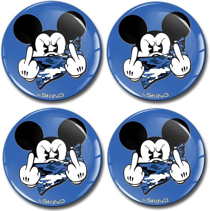4 x BMW 68 mm Centre Caps Alliage Moyeu Roue Badges Emblèmes stickers 65 mm clips