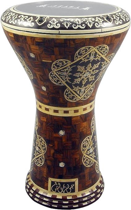 gawharet el fan drum doumbek 17 wooden